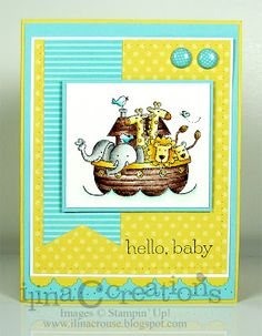 Baby Congrats by ilinacrouse - Cards and Paper Crafts at Splitcoaststampers