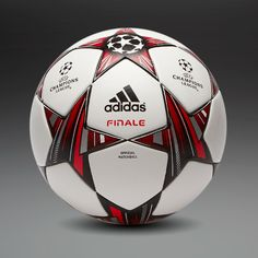 Size 5  #10 adidas Footballs - adidas Finale 13 Official Match Ball - Football Balls - White-Black-Metallic Silver