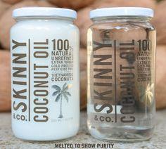 Win A Free Jar Of Skinny Coconut Oil