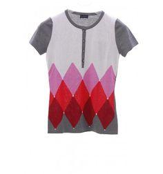 Ballantyne Camiseta con rombos   Categoría: Camisetas y polos Unidades mínimas de pedido: 1 distribuidores de ropa de marca outlet polos al por mayor: http://www.mooicheap.com/