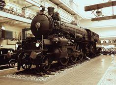 #train #prague #praha #czechrepublic #traveler #tourism #museum Czech Republic, Locomotive, Prague, Illustrators, Tourism, Museum, Train, History, Vehicles
