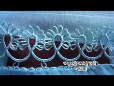 En Güzel El işleri Mavi İğne Oyası : Blue Colorful Needle Lace - YouTube