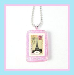 Postcard From Paris Childrens Charmers Necklace by PBJewels, $5.00