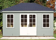 Posh shed