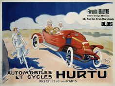 O'Galop - Hurtu Automobiles et Cycles - art prints and posters