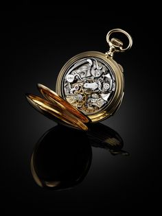 Jaeger-LeCoultre Heritage, 1928. Double Complication pocket watch. So expensive I've yet to find a single price tag.