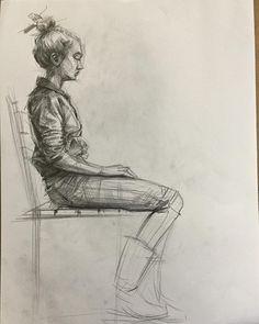 #gsf #atölye #galeri #art #sanat #çizim #eskiz #sketch #study #design #kalem #karakalem #desen #figure #figures #figurative #figür #portrait #portre