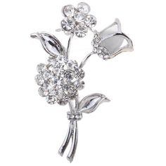 Yazilind Jewelry Noble Silver Plated Rose Flower Shape Carved Full Shining Brooches and Pins Bridal for Women Gift Yazilind http://www.amazon.com/dp/B00JAUD8XW/ref=cm_sw_r_pi_dp_GdN5vb1JGHVP2