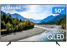 "Smart TV 4K QLED 50"" Samsung 50Q60TA - Wi-Fi Bluetooth HDR 3 HDMI 2 USB - Magazine Bicicletascia Dolby Digital, Wi Fi, Bluetooth, Tv Samsung, Samsung Galaxy, Tv 50"", Smart Tv 4k, Media Smart, Shopping"