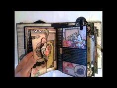 Nature Garden - romantic vintage mini album part 2 - YouTube
