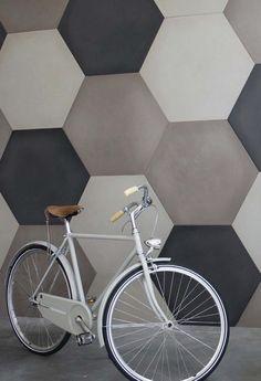 Cement wall/floor tiles CEMENTO14 ESAGONI CEMENTO14 Collection by @14oraitaliana