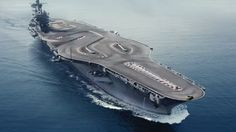 BMW reimagines the USS John C. Stennis as an M4 playground