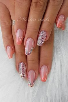 55 Stylish Coffin Nail Designs To Copy Right Stylish Coffin Nail Designs To Copy Right Now Honeycomb Nail Art See We loved this nail art model, which is reminiscent of honeycomb. Summer Acrylic Nails, Best Acrylic Nails, Summer Nails, Stylish Nails, Trendy Nails, Elegant Nails, Perfect Nails, Gorgeous Nails, Fancy Nails
