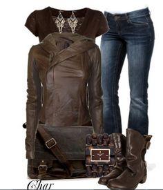 Stylish Board - Brown Leather