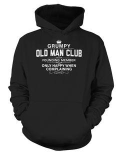 Grumpy Old Man Club   TeeChip