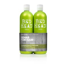 Buy TIGI Bed Head Re-Energize Shampoo & Conditioner Tween 2x 750ml from TreatYourSkin.com and receive free shipping worldwide.