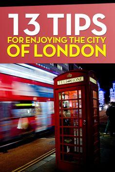 13 tips for enjoying the city of London