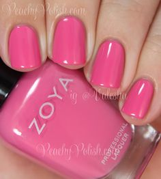 Zoya Rooney | Summer 2014 Tickled Collection | Peachy Polish