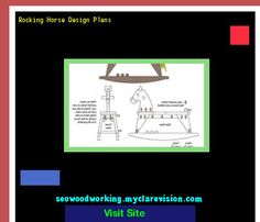 Rocking Horse Design Plans 204544 - Woodworking Plans and Projects!