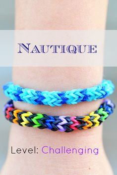 How to Make the Nautique Rainbow Loom Bracelet
