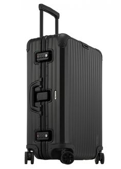 Get your Rimowa Topas Stealth Multiwheel today. Purchase this high quality travel product at Portmantos. Cute Luggage, Kids Luggage, Best Luggage, Carry On Luggage, Travel Luggage, Travel Bags, Luggage Bags, Rimowa Topas, Rimowa Luggage