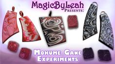 Polymer Clay Mokume Gane Experiments MagicByLeah