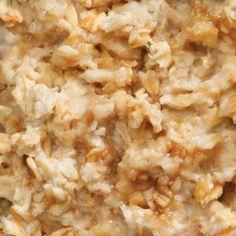 Hot Apple & Steel-Cut Oats Breakfast - in a Rice Cooker or Slow Cooker