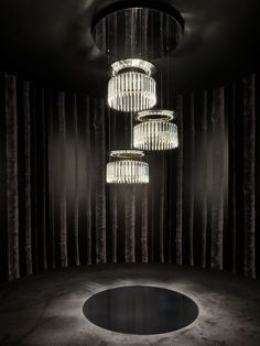 Baccarat Highlights 2013 in Milano | Lady Crinoline Chandelier