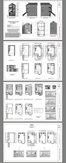 16x26 House w/ Loft -- #16X26H1 -- 760 sq ft - Excellent Floor Plans