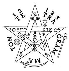 Pentagrama de Fausto