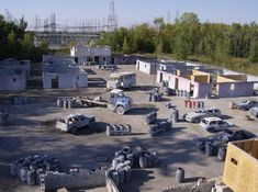 paintball+courses | Skorpion Paintball features an elaborate outdoor urban field, which is ...