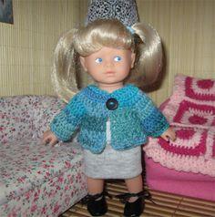 tuto gilet au crochet  : Mini Corolline