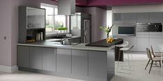 Minerva Worktops - Contemporary Kitchens