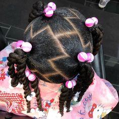 Black Baby Girl Hairstyles, Toddler Braided Hairstyles, Natural Hairstyles For Kids, Twist Hairstyles, Natural Hair Braids, Natural Hair Styles, Kid Braid Styles, Braids For Kids, Kid Hair