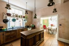Artist Alex Chinneck's Remodeled Rustic English Kitchen, via The Modern House