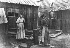 Slovak women in a patch town, PA, circa 1910, by Lewis Hine
