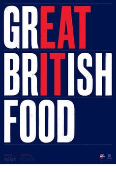 Great British Food / Eat It poster