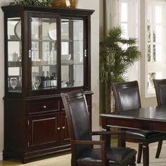 101634 Ramona Formal Dining Room Buffet with Hutch by Coaster