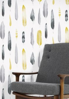 'Feathers' is the third wallpaper design in the Mini Moderns 'Hinterland' collection. It marks a repeat collaboration between Mini Moderns and artist, Matt Sewell. The design is bas...