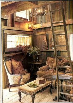 Rustic, this style is my favorite!
