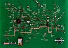 yuri suzuki: london underground circuit map radio