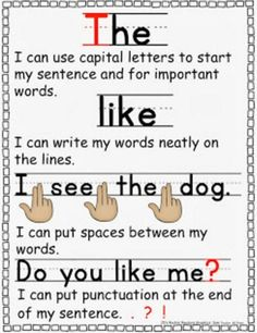11 Fantastic Writing Rubrics for Kindergarten - beginning writers checklist - Teach Junkie