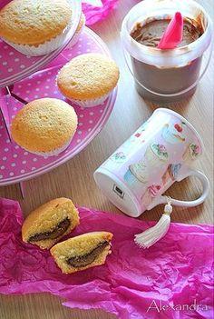 Muffins με Nutella. Ένα γλυκάκι με περιεχόμενο!!!
