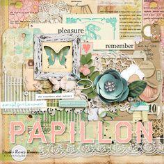 Scrapbookgraphics.com :: Kits :: Papillon