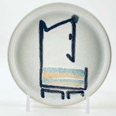 Vintage Bennington Potters #1290 Abstract Dog Design Trinket Dish David Gil c196 | eBay Bennington Pottery, Vintage Designs, Decorative Plates, Tableware, Home Decor, Dinnerware, Decoration Home, Room Decor, Tablewares