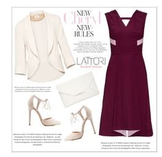 """LATTORI dress"" by water-polo ❤ liked on Polyvore featuring Lattori, Wilfred, Charlotte Russe, Style & Co., polyvoreeditorial and lattori"