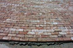 "Concrete ""Antique Brick"" Paving Gardening Ideas"