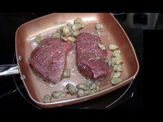 Bison Sirloin Steak and Eggs Breakfast