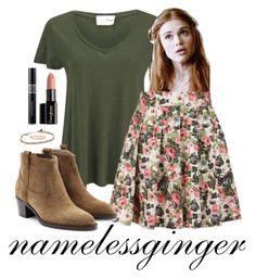 """Lydia Martin 3"" by namelessginger ❤ liked on Polyvore featuring American Vintage, Kate Spade, Christian Dior, Gorgeous Cosmetics, Shashi, Louche and Burberry"
