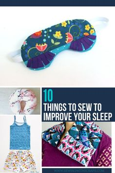 Simple Projects to Sew with Scraps for bedtime - Sewing With Scraps